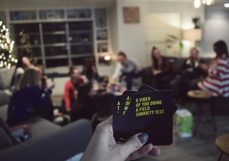 social sabotage games at christmas party