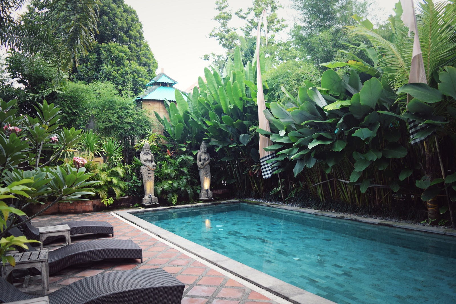 pool at meruhdani ubud bali