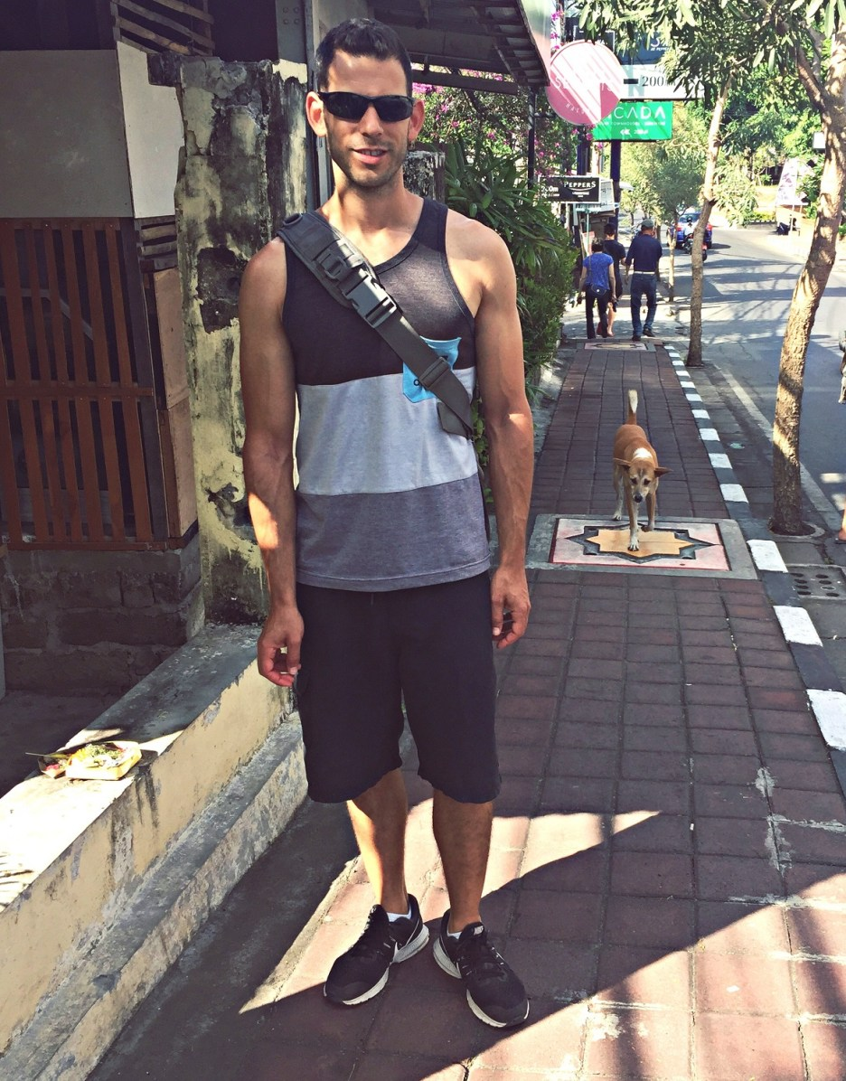the streets of seminyak bali