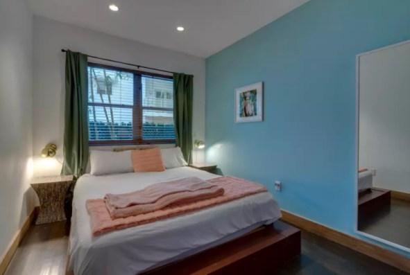 bohemian bedroom south beach airbnb