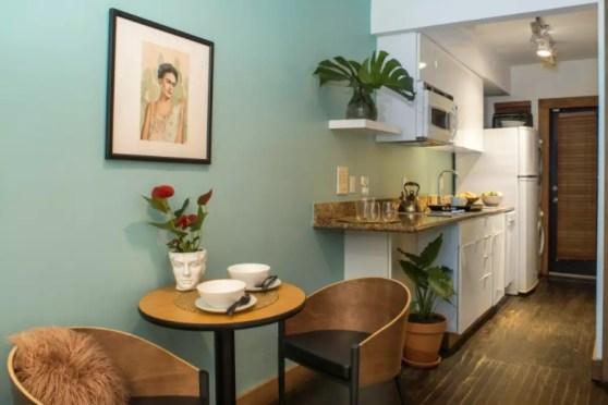 kitchen airbnb south beach miami