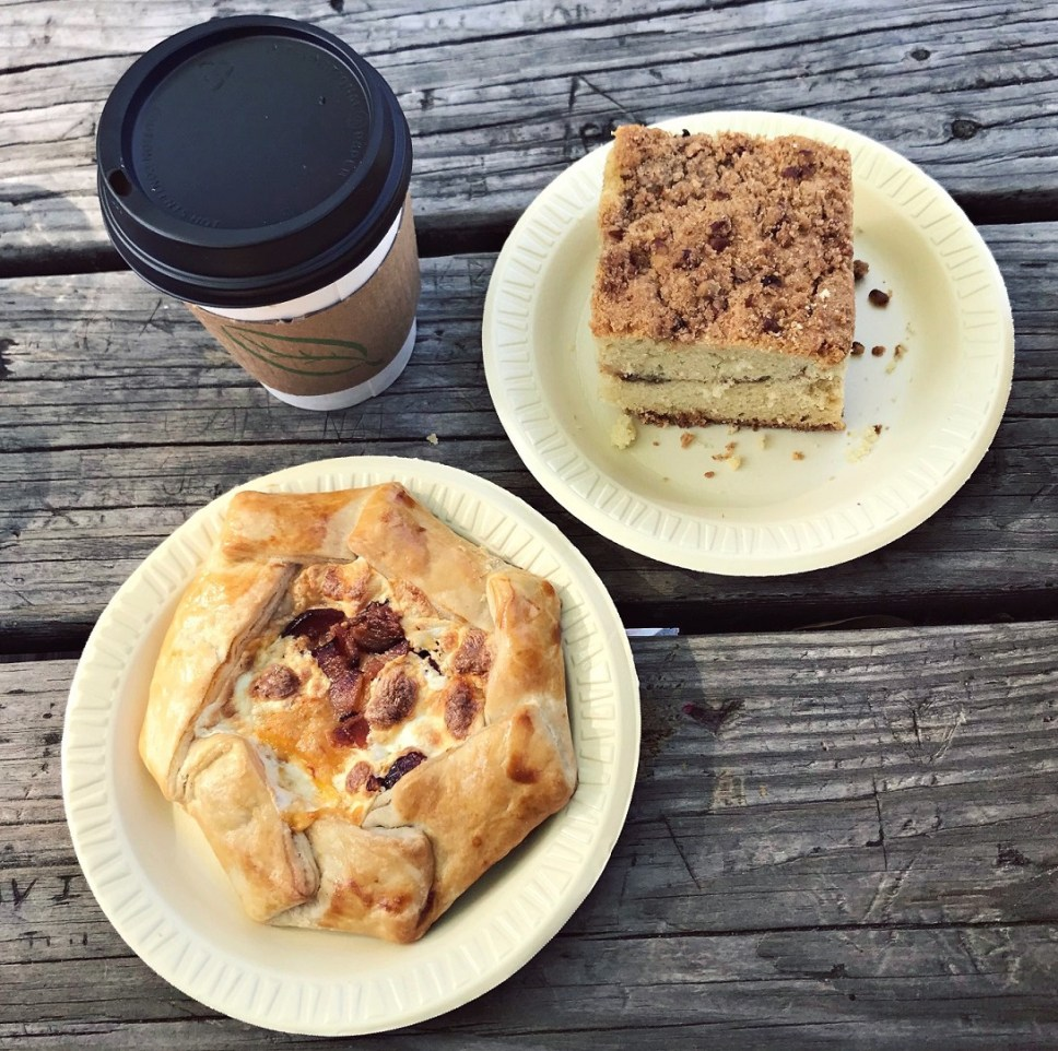 breakfast pastries at mozarts coffee roasters austin texas
