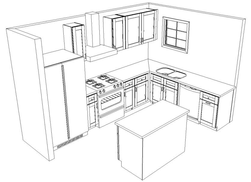 bohemian modern kitchen remodel