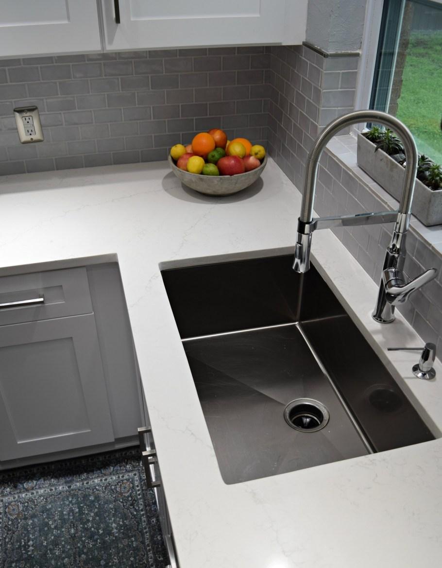 bohemian modern kitchen remodel project