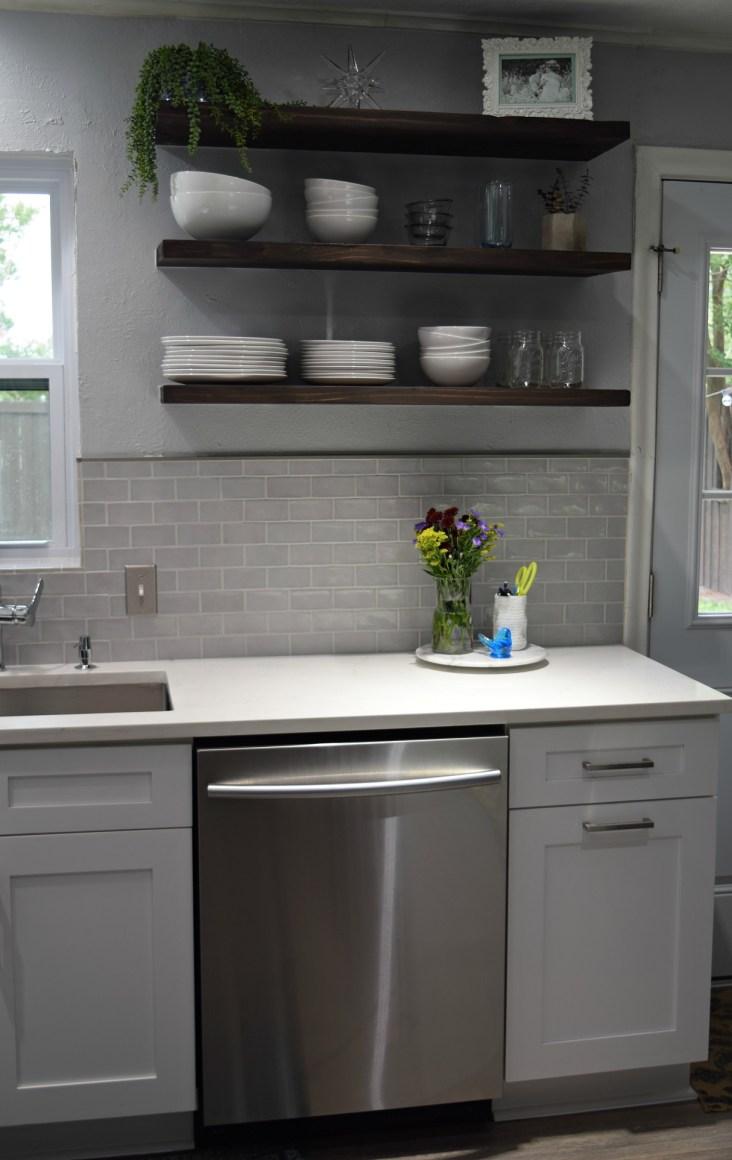 modern bohemian kitchen renovation project
