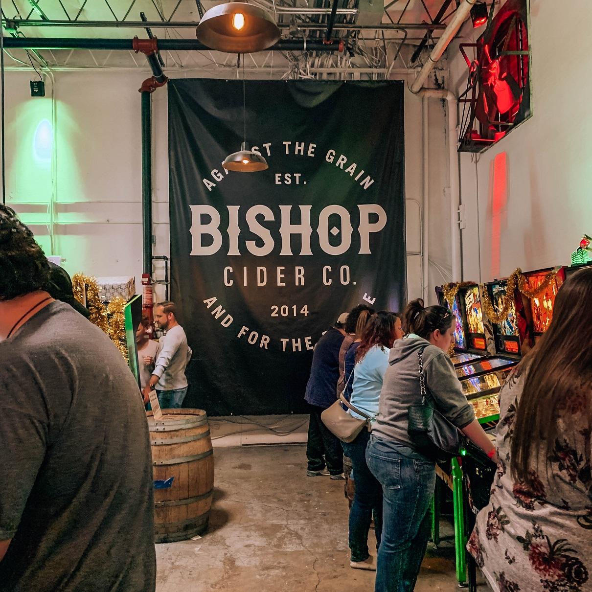 social pie pizza and pinball at bishop cidercade
