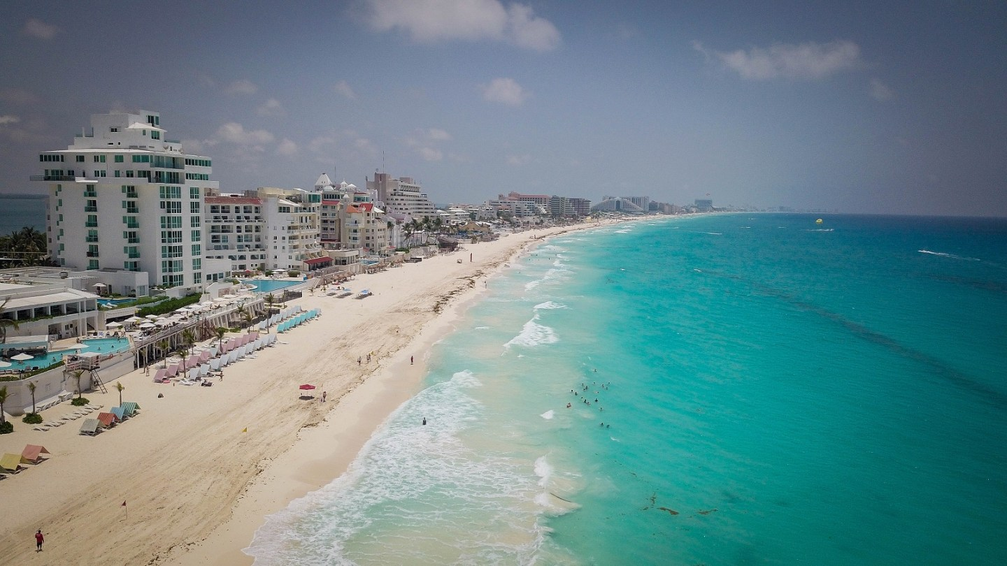 family adventure to cancun, mexico