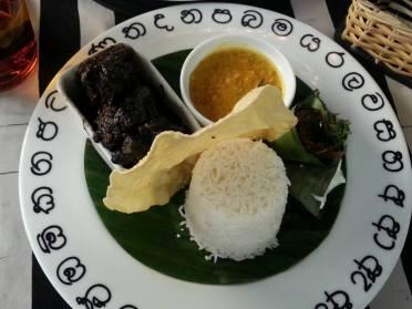 Black Pork Curry @ Gallery Cafe