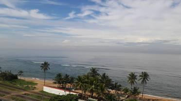 The view heading towards Beach Wadiya