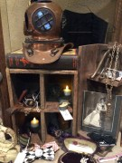 Booth Display at The World's Steampunk Fair.