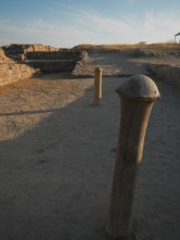 massive pillars buried up, but what were they used for ?