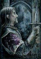 '...the blade that cut the Ring from Sauron's hand...' by Soni Alcorn-Hender
