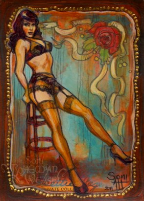 Bettie Page by Soni Alcorn-Hender
