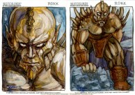 Sketchlords sketch cards by Soni Alcorn-Hender