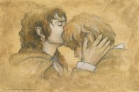 Frodo & Sam for The Hillywood Show, by Soni Alcorn-Hender