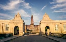 Palača Christiansborg - danski parlament // Christiansborg Palace - Danish Parliament