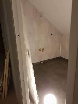 Badrum med våtrumsmatta