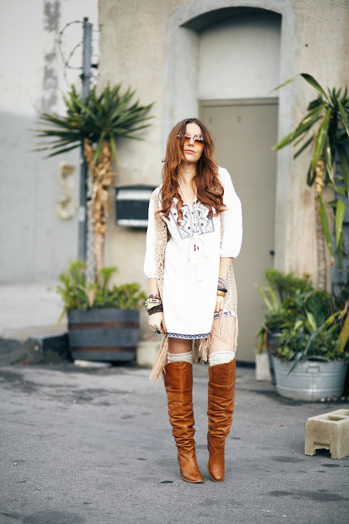 of-a muse-tunic-crochet-fringe-vest-boho-bohemian-fashion-blogger 1