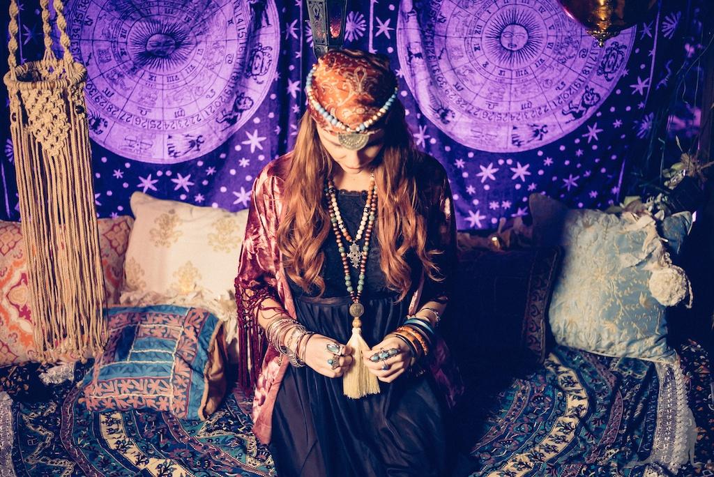 tracey-filapose-boho-bunnie-gypsy-jewels-bohemian-tapestry-decor-velvet-fringe-kimono-vintage-trippy-hippie-store-drip-candles-fortune-teller 24