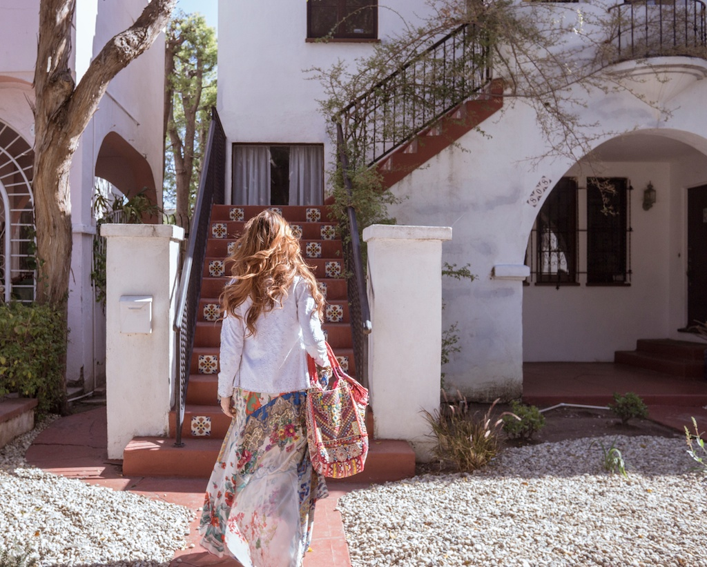 pachamama-bohemian-johnny-was-clothing-boho-beaded-bag-silk-scarf-maxi-dress 3