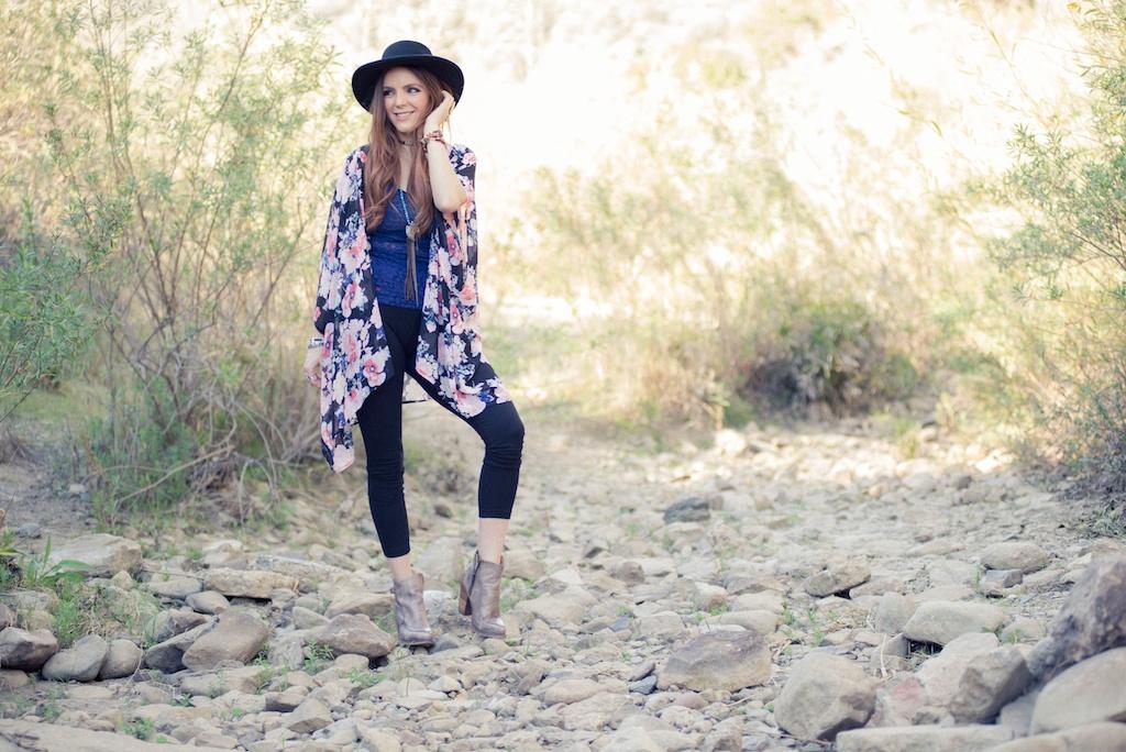 ruby-ribbon-kimono-shawl-floral-print-shape-wear-bohemian-western-bedstu 5