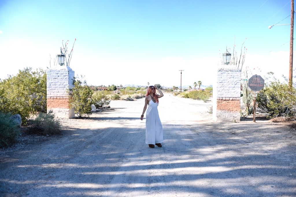 tejido-white-jumpsuit-cullottes-jeffrey-campbell-platform-sandals-29-palms-inn-joshua-tree-overtone-hair-color-bohemian-fashion-blogger-boho-bunnie 2