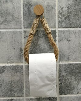 Boho Chic Rope Toilet Paper Holder