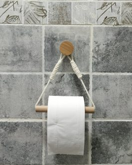 Boho Chic Wall hangs paper towel holder