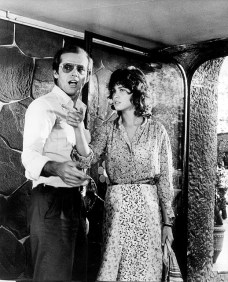 The Passenger, 1975 (directed by Michelangelo Antonioni starring Jack Nicholson and Maria Schneider in the setting of Gaudi's La Pedrera in Barcelona)