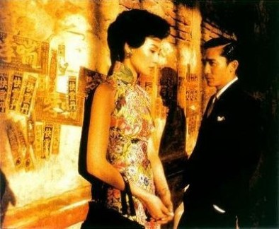 In the Mood for Love (directed by Wong Kar-Wai starring Maggie Cheung and Tony Leung)
