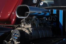 blower on a hot rod