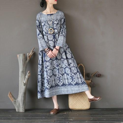 Pale ink платье с орнаментом