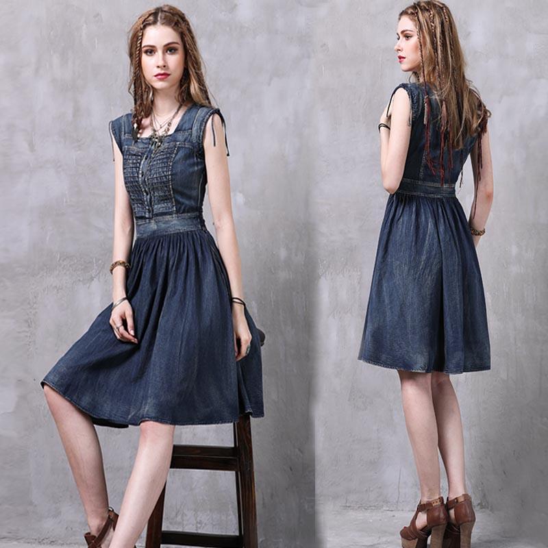 Джинсовые платья от Keer