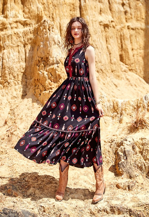 Artka платье с рисунком