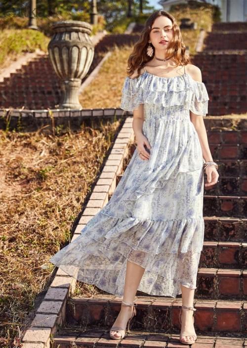 Artka платье с оборками