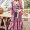 Artka цветное ретро-платье