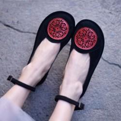 Artmu туфли с круглым узором