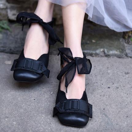 Artmu плоские туфли с пряжкой