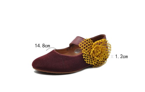 Artmu туфли с цветком из сетки