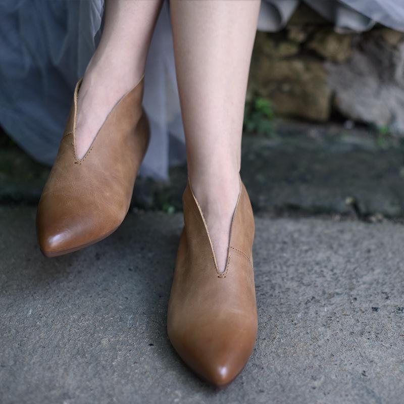 Artmu остроносые ботинки