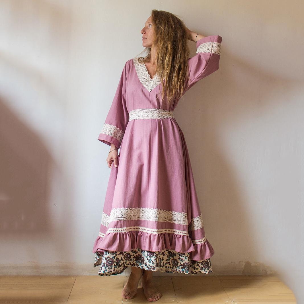 MarlЁn платье Пыльная роза