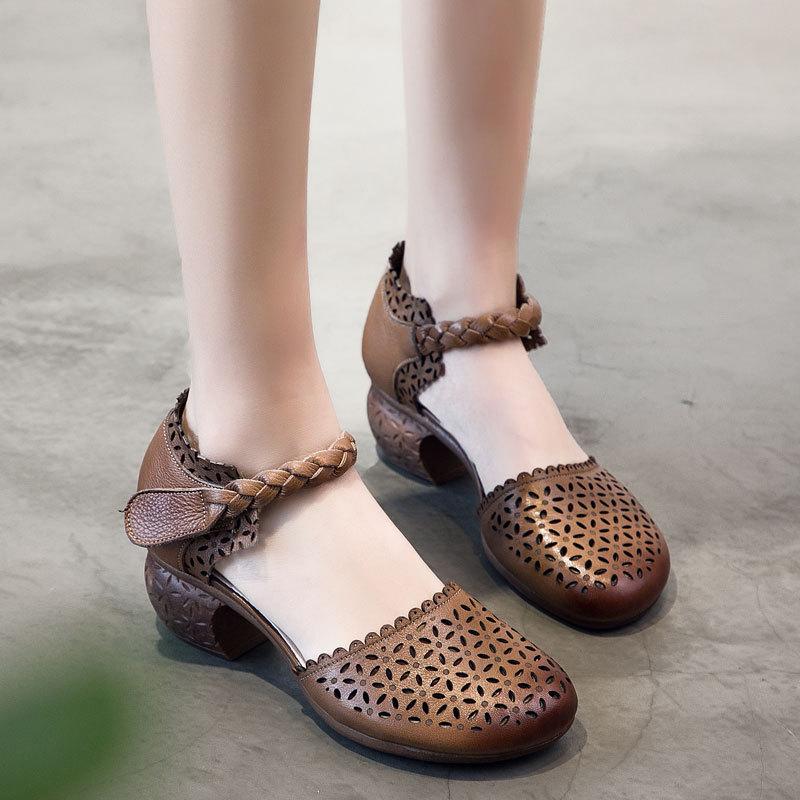 Susemade туфли резные на каблучке