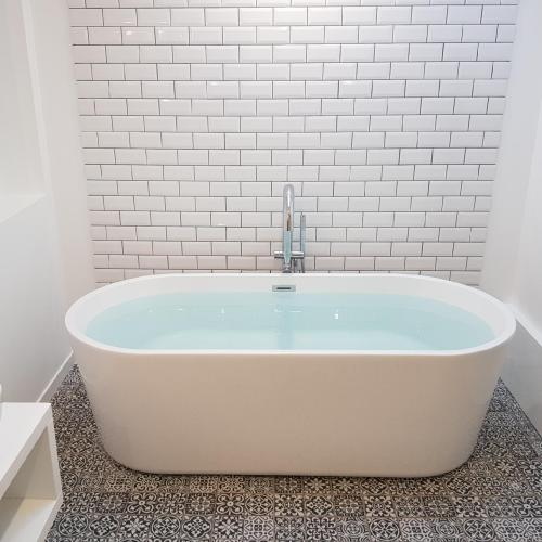 Rénovation d'une salle de bain-baignoire
