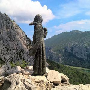 Ivan Mestrovic Statue of Mila Gojsalic
