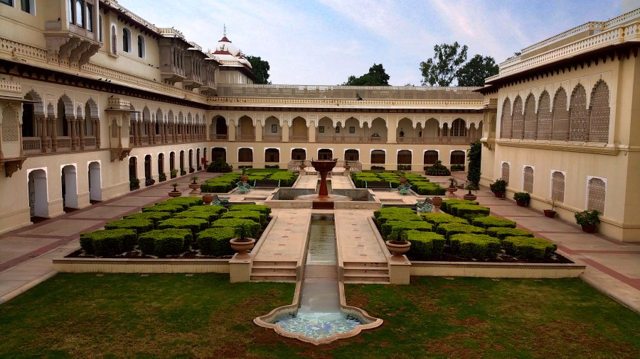 rambagh palace, rambagh hotel, jaipur, rajasthan, taj group