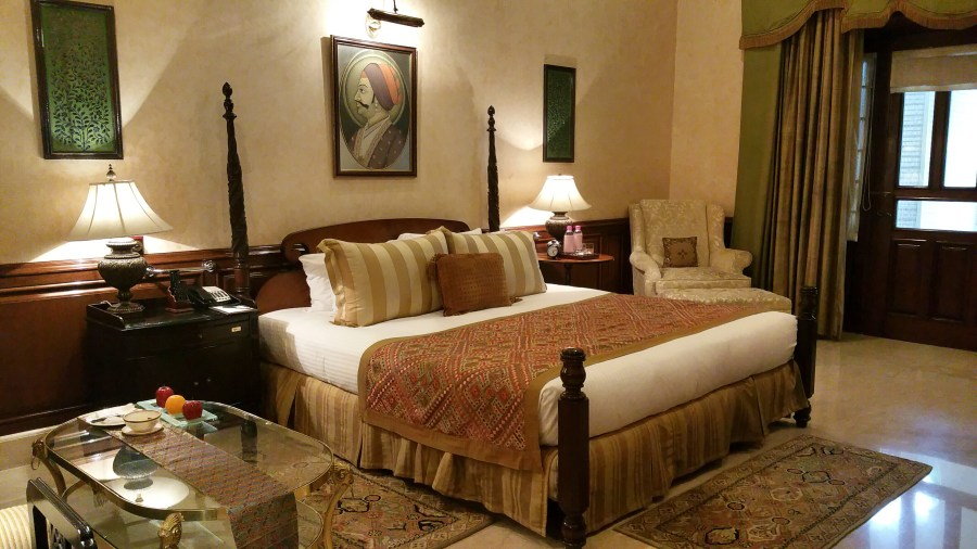 Palace Room Suite, Rambagh Hotel, Rambagh Palace, India, Royalty, Jaipur, Rajasthan