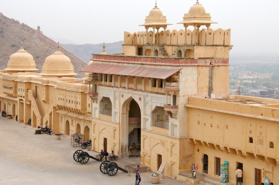 jaipur, amer fort, jaigarh fort, rajasthan, india, culture, history, architecture, travel