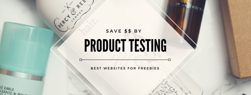 product testing, free samples, freebies, paid surveys, test products