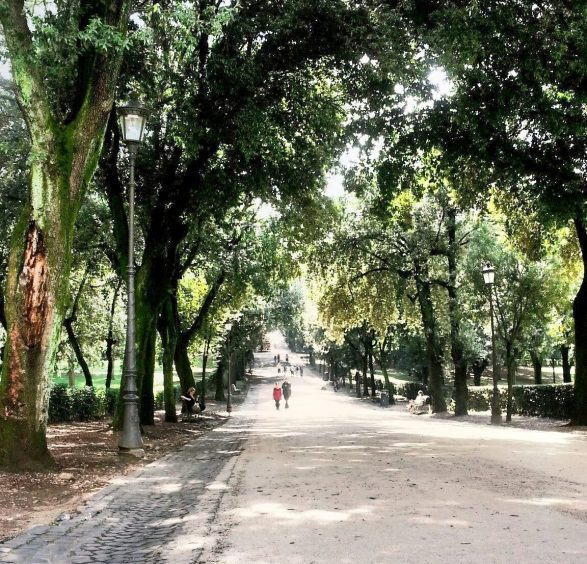Villa Borghese, Parks in Rome, Italy