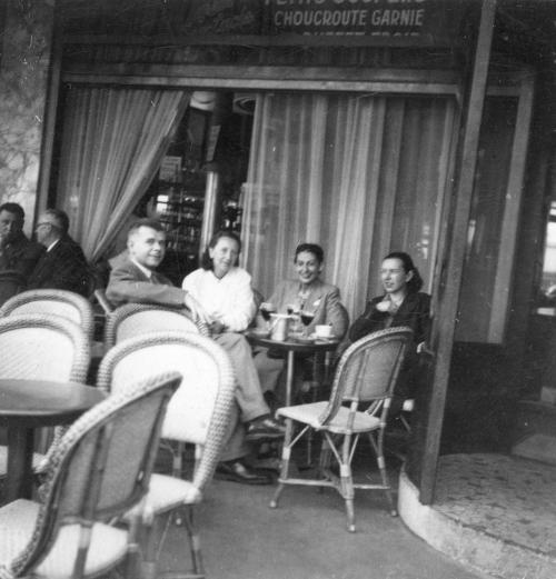 Naproti Dvoum magotům, Paříž 1949 (foto J. Krejcar)